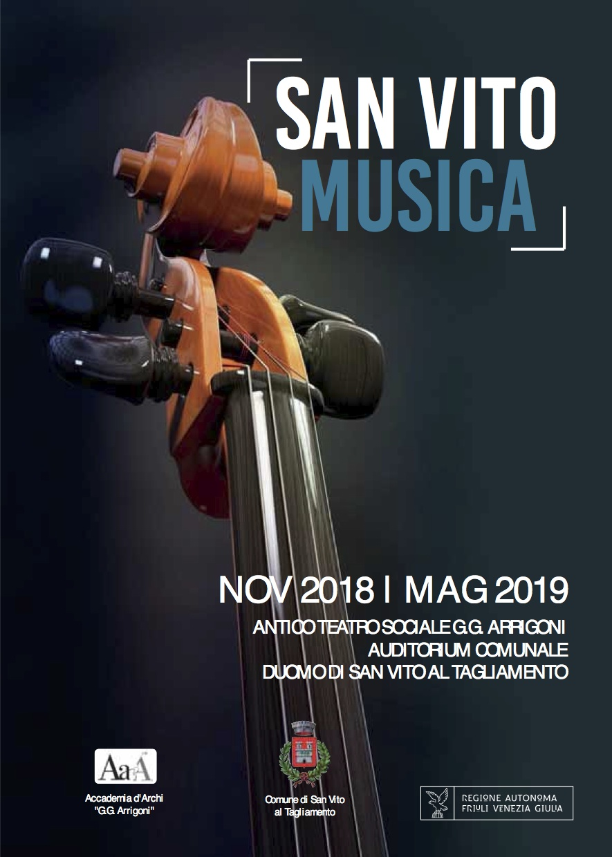 """Conferenza di presentazione """"San Vito Musica 2018-19"""""""