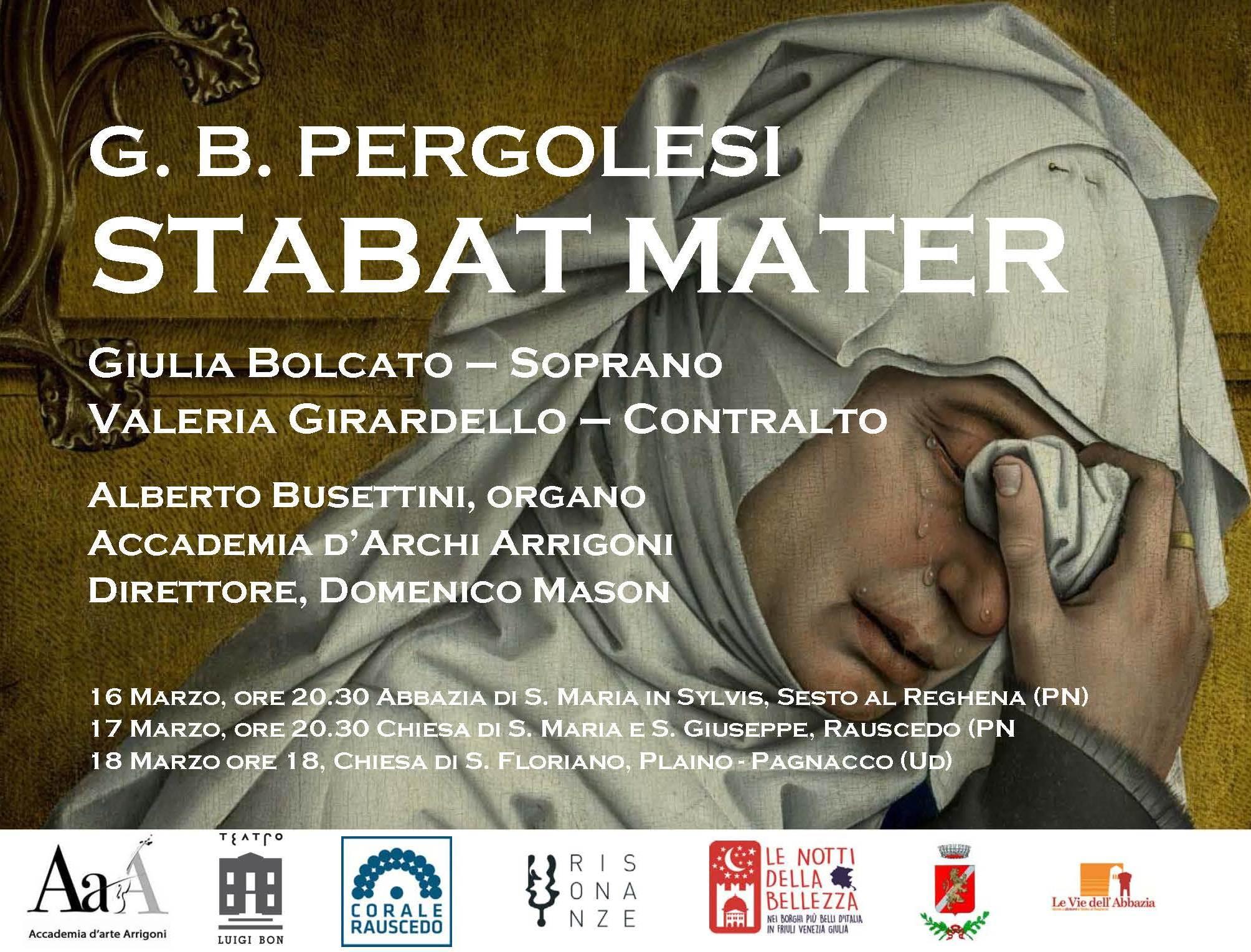 G.B. PERGOLESI – STABAT MATER